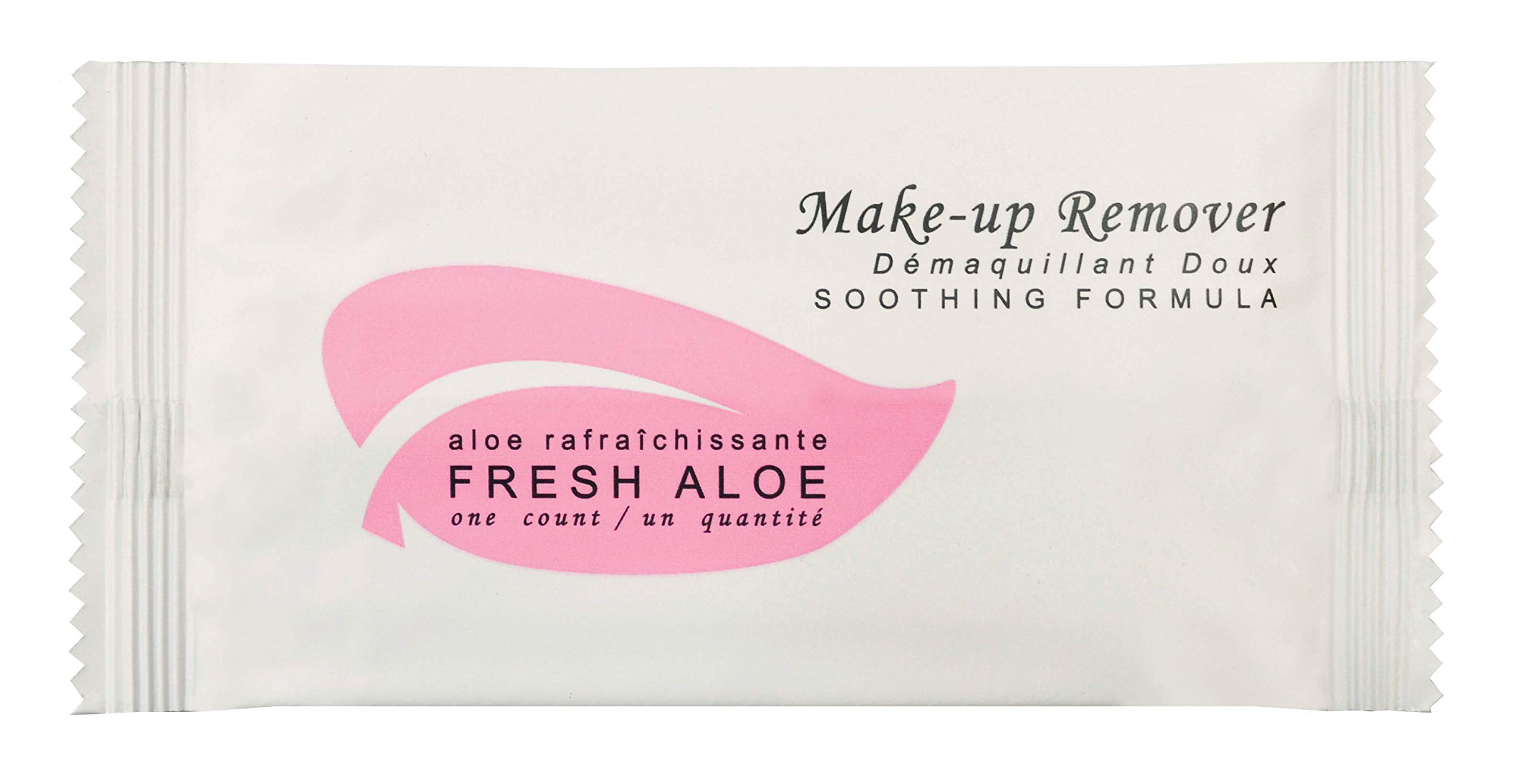 Fresh Aloe Make-up Remover Wipe (Case of 500)- Air BnB, VRBO, Vacation Rental
