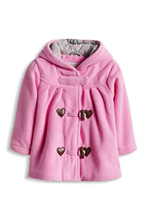 esprit Baby Girls Fleece Duffle Coat, Mallow Pink, 3-6 Months ...