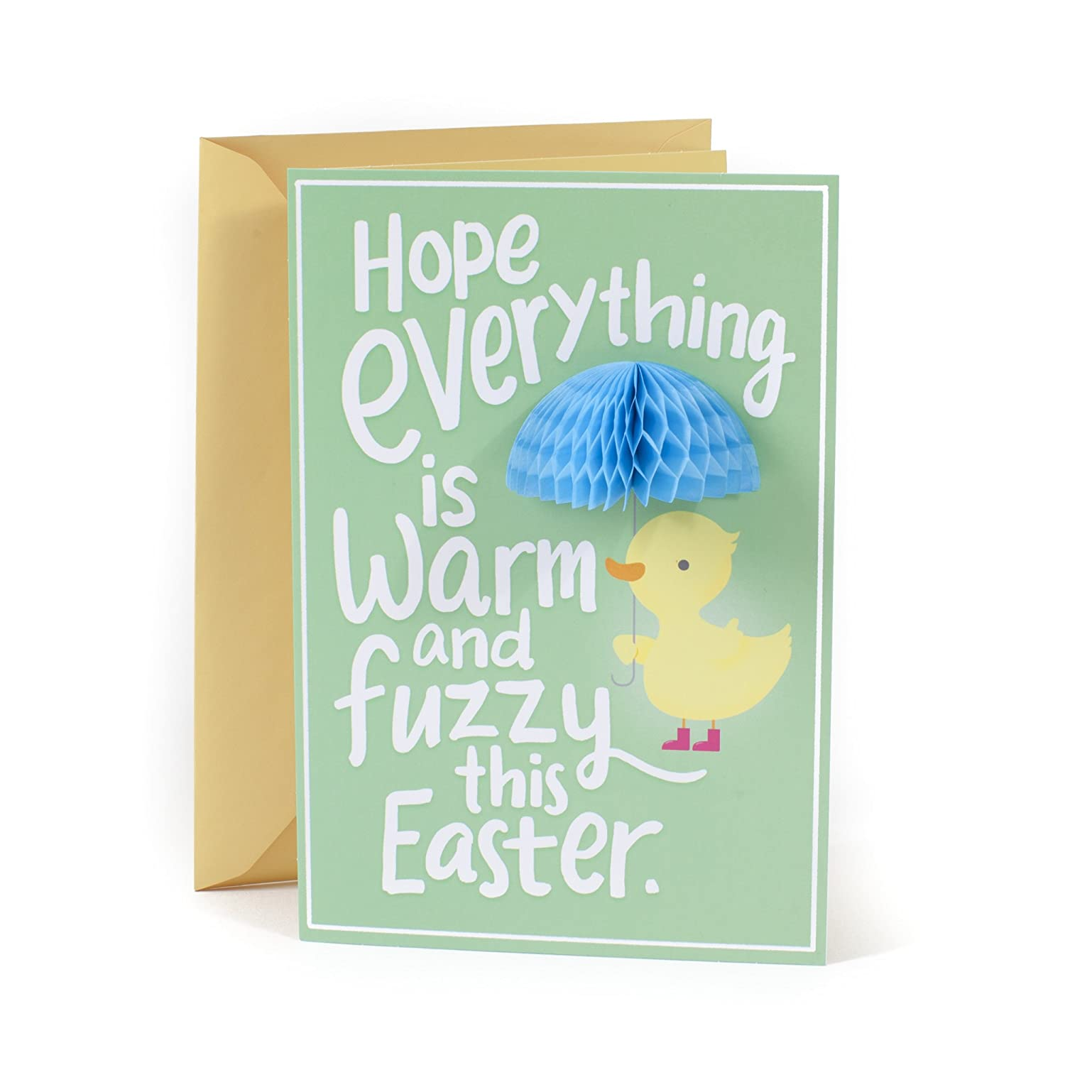 Amazon Hallmark Funny Easter Greeting Card For Kids Cute Duck