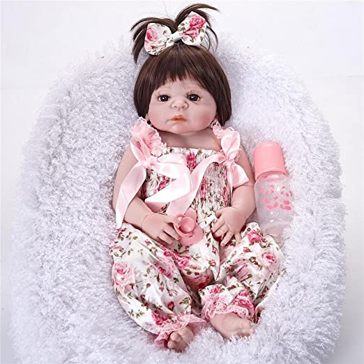 Amazon.com: Reborn bebé muñeca realista princesa Small Girl ...