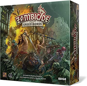Edge Entertainment- Zombicide: Green Horde Multicolor EECMZB03 espa/ñol