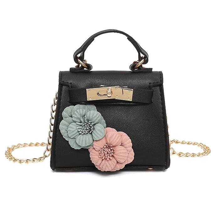 Toddler Girls Cute Flower Super Mini Bags Wallets Kids Travel Shoulder  Cross Body Small Purses ( 3d3afd2a80566