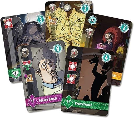 Edge Entertainment - Cthulhu Realms, Juego de Cartas (EDGCTR01): Amazon.es: Juguetes y juegos