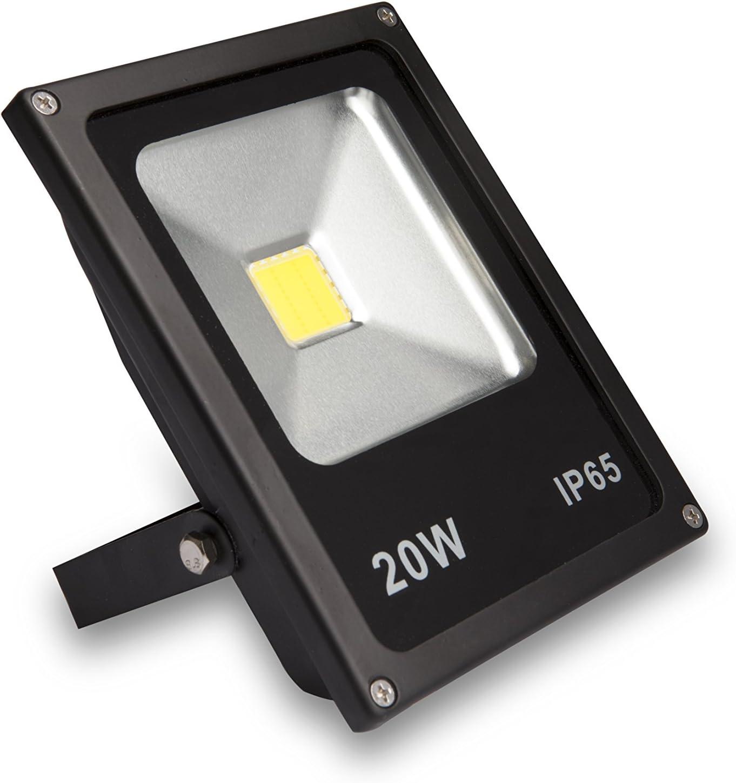Tvtech - Proyector Megaled Basic 20W Ip65 1500 Lumens: Amazon.es ...
