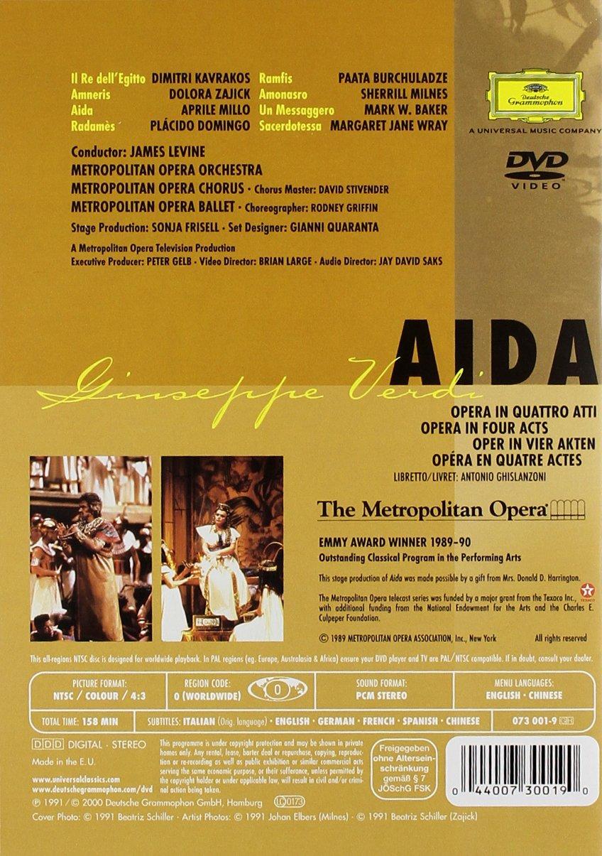 Verdi - Aida / Levine, Domingo, Millo, Metropolitan Opera by Deutsche Grammophon