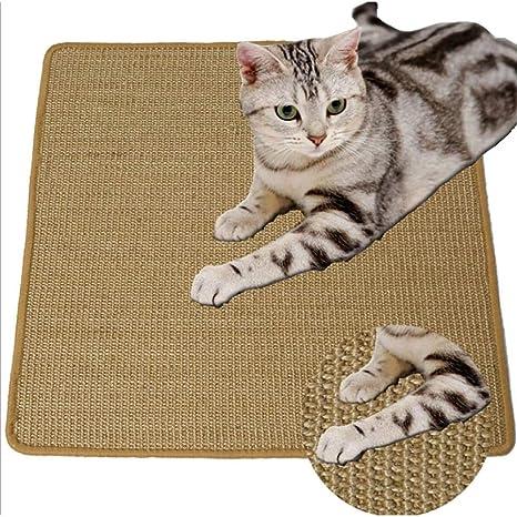 QEES CWL003 - Esterilla para rascar Gatos, rascador y Almohadilla de sisal para Gatos