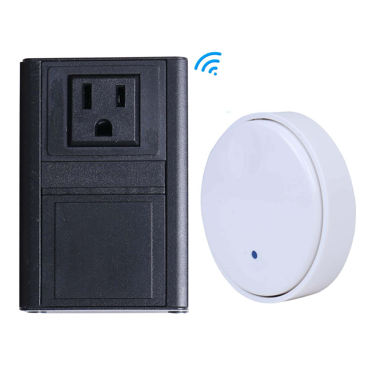 Sink Top Garbage Disposal Wireless Switch Kit, No Batteries Required, No Wiring, Self-Powered Wireless Switch for Waste Disposer