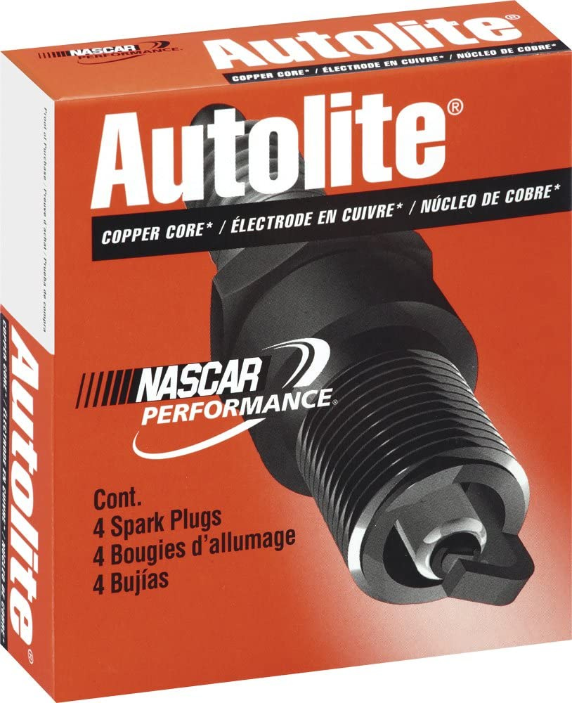 Autolite 4265 Motorcycle Spark Plug Pack of 1