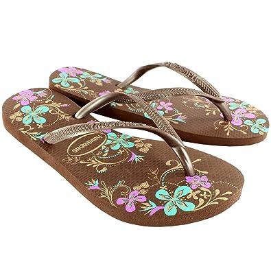 7e77c33e0c019a Havaianas Womens Slim Season Beach Flip Flops Summer Sandals New UK Sizes  1-8