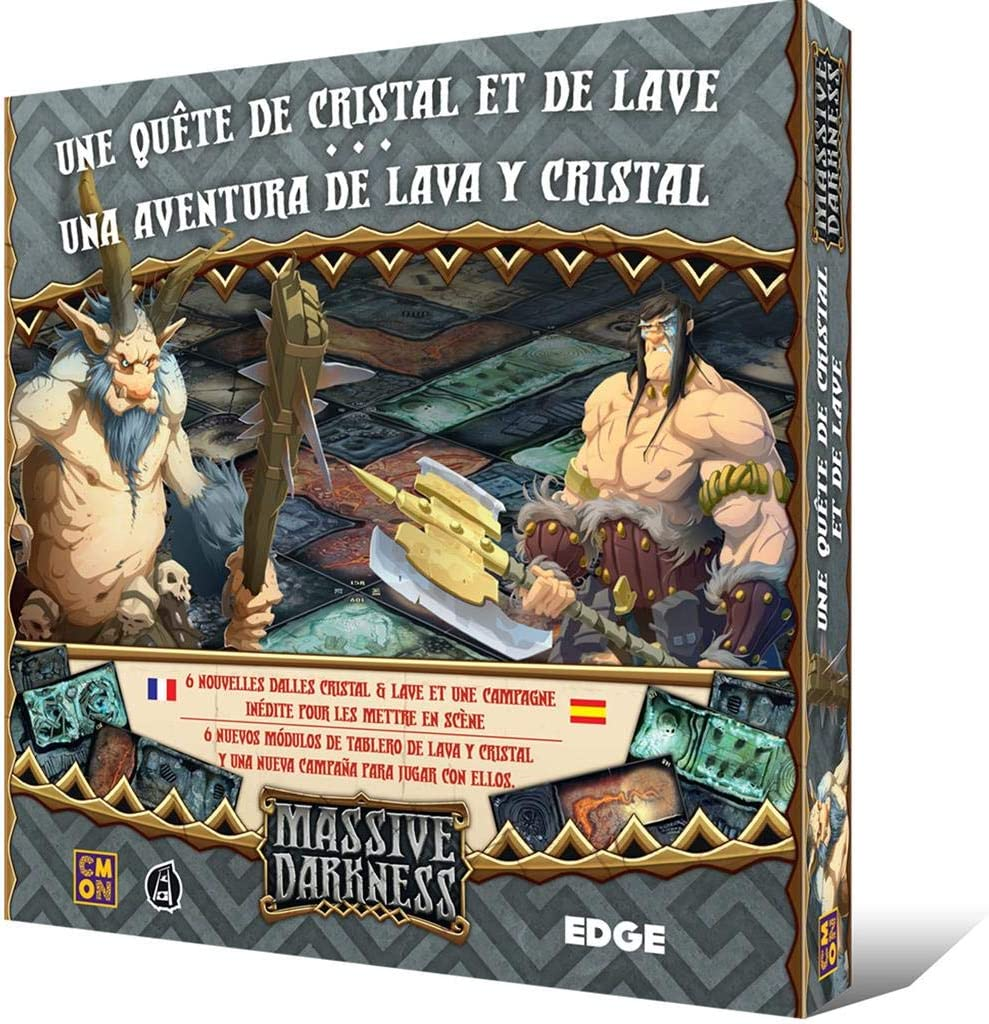 Edge Entertainment-Una Aventura De Lava Y Cristal: Amazon.es: Juguetes y juegos