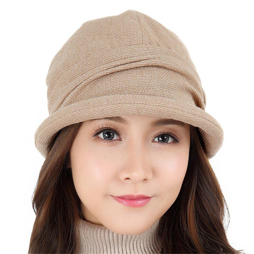 Las mujeres caen borde sombrero Cuenca femenino todos ocio-match simple pescador hat femenino en el ...