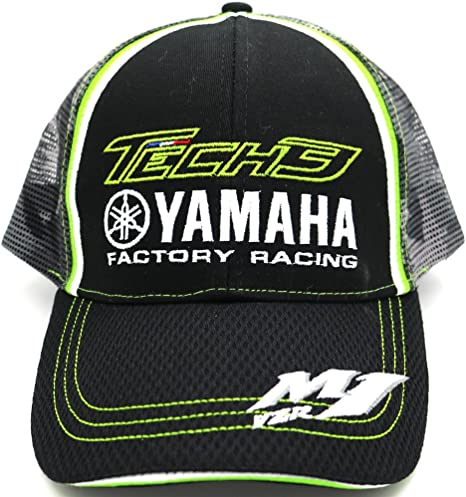 Tech 3 Yamaha Moto GP Racing Team Gorra Oficial 2017: Amazon.es ...