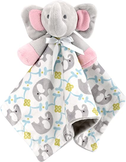 Baby Security Blanket Soft Animal Plush Security Blanket Soothe Appease Towel Soothing Comforting Toy for 0-36 Months Newborn Infants