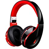 Ausdom AH2S Bluetooth Wireless Headphones with Microphone, On Ear Stereo Foldable Gaming Headset V4.0 for Pc Mac Mobile Phones Men Kids Girls
