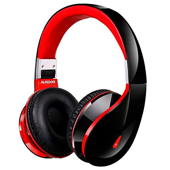 cdf4aa18a45 Amazon.com: AUSDOM Wireless Bluetooth Headphone (AH2S): Electronics