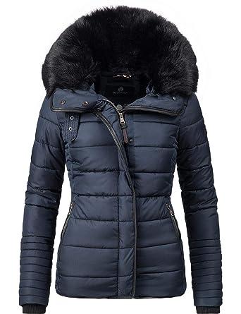 outlet store 0c2f4 4b8ba Marikoo Damen Jacke Steppjacke Laureen 5 Farben XS-XL