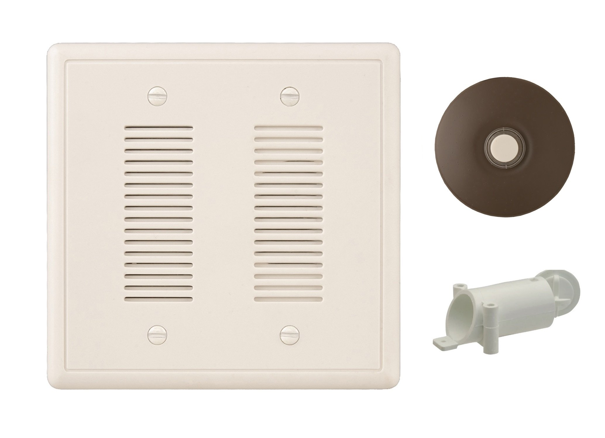 NICOR Lighting Prime Chime Door Bell Kit with Architectural Bronze Button (18888SB-BZ) by NICOR Lighting