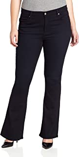 product image for James Jean Women's Plus-Size Juliet Z Trumpet-Leg Jean