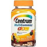 Centrum Adults MultiGummies (150 Count, Natural Cherry, Berry, Orange Flavor) Multivitamin / Multimineral Supplement Gummies