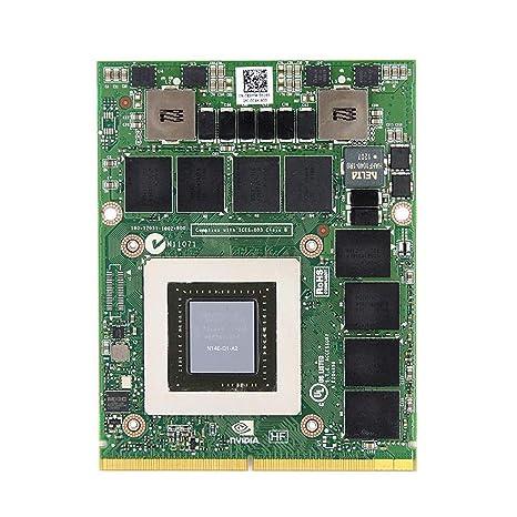 Amazon.com: Dell Precision M6600 M6700 M6800 - Tarjeta ...