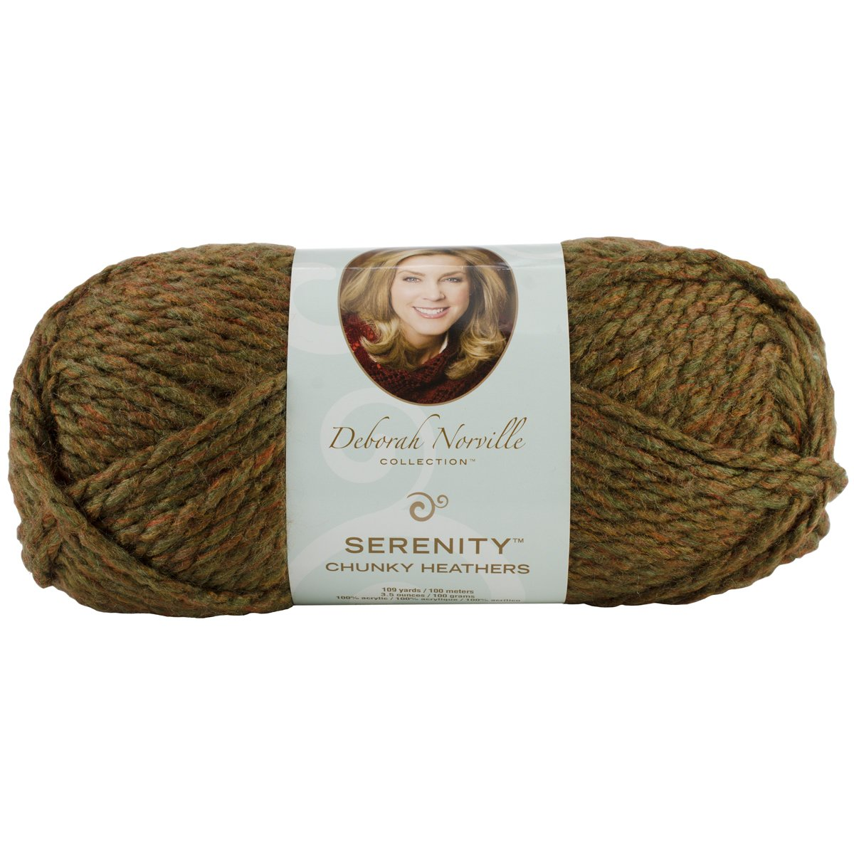 Amazon.com: Deborah Norville Collection Serenity Chunky Heathers ...