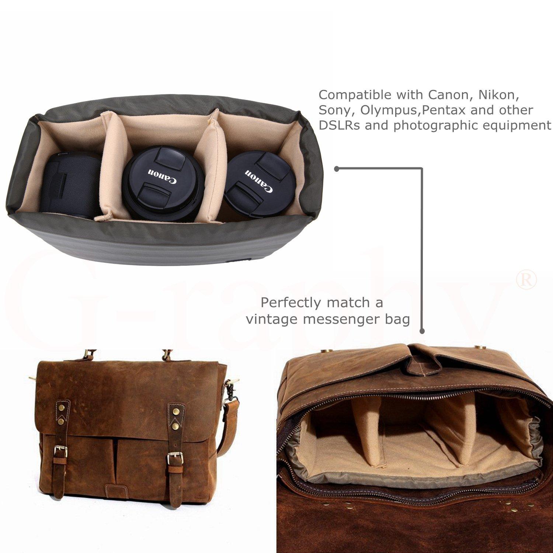 Dslr Camera Insert Case Partition Padded Eastpak Pakamp039r Backpack Quilt Sunday Bag Make Your Own 125 X 84 X45 Electronics
