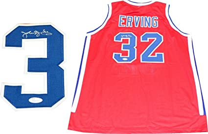 eda388bfda5 Julius Erving Autographed Virginia Squires Jersey (JSA) at Amazon's ...