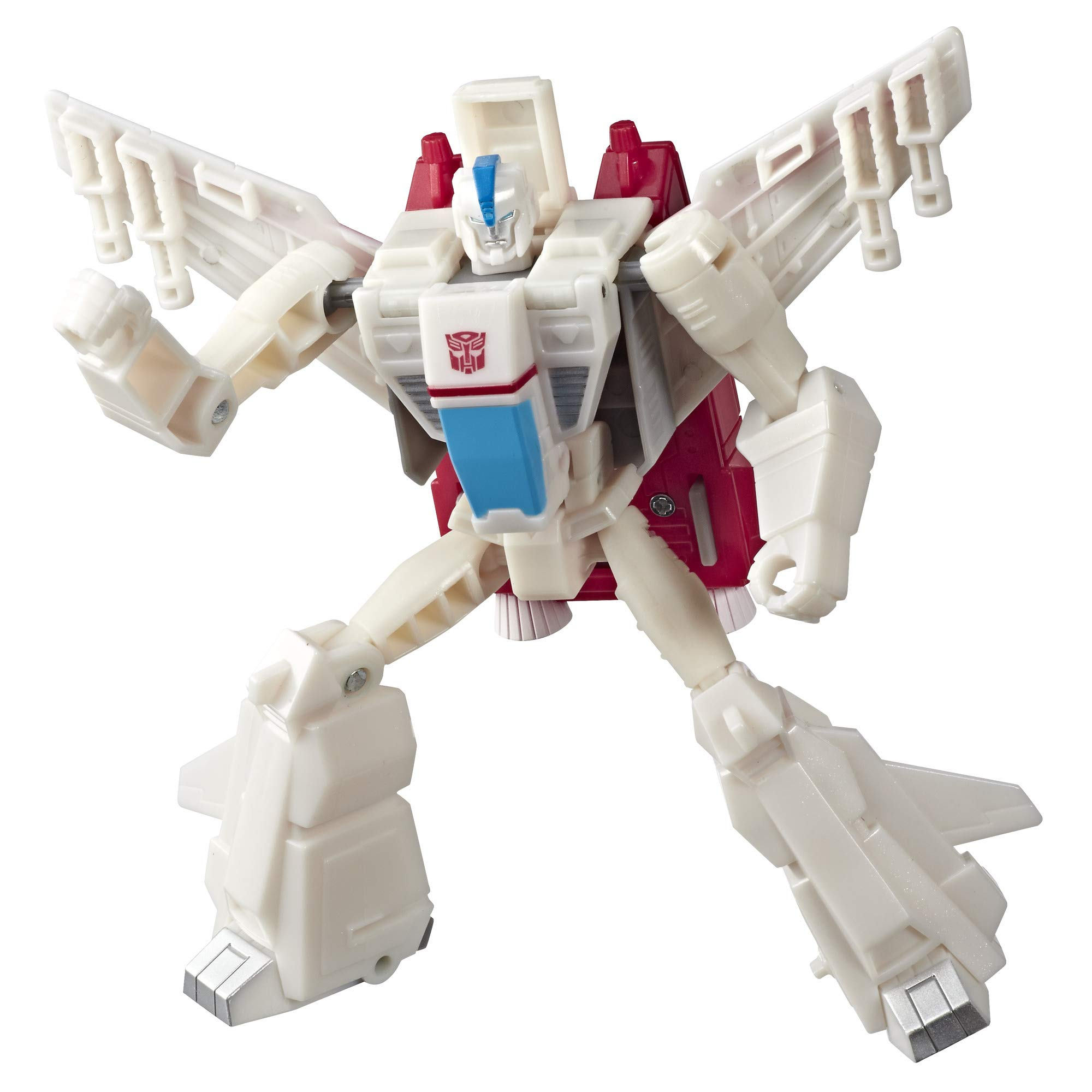 Transformers Toys Cyberverse Action Attackers Warrior Class Jetfire Action Figure