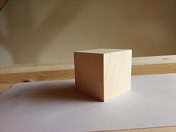 8x8 cm Zirbe Würfel Zirbenwürfel Zirbenholz Zirbenholzwürfel Arve Duftwürfel