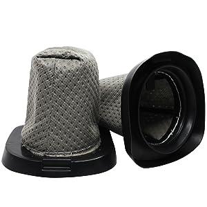 2-pack Replacement F25 Filter for Dirt Devil - Compatible with Dirt Devil Simpli-Stik Lightweight Corded Bagless Stick Vacuum, Dirt Devil F25, Dirt Devil F-25 with 7-Piece Micro Vacuum Attachment Kit