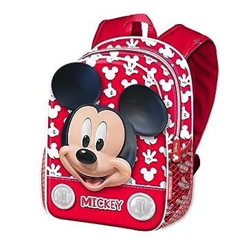 Karactermania Mickey Mouse Funny Mochila Infantil, 40 cm, Rojo: Amazon.es: Equipaje