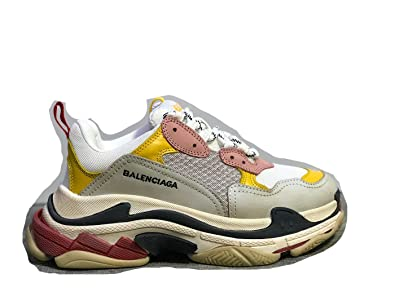 24cd6a065e5b Hodasz Sport Leisure Balenciaga Women s Vintage Triple-S Trainers Fashion  Sneakers Grey (US Women s