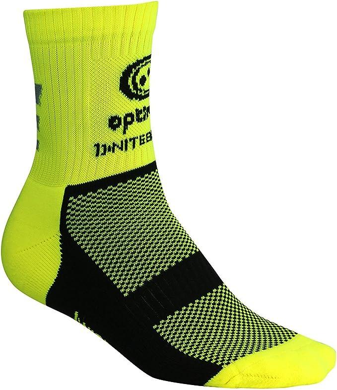 Optimum Calcetines de Ciclismo de Invierno Unisex Nitebrite, Adulto, Amarillo Fluorescente: Amazon.es: Deportes y aire libre