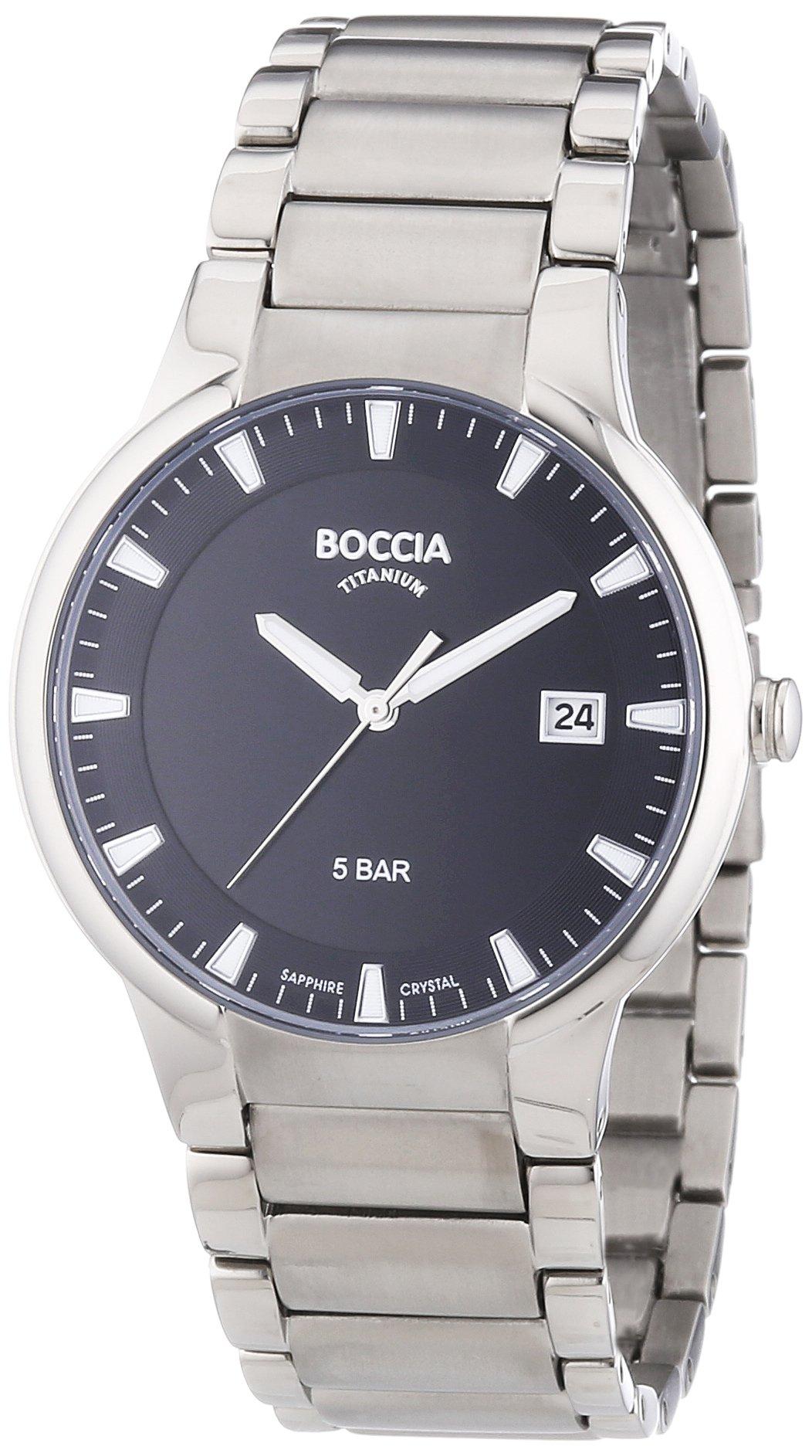 Boccia 3576-01 Titanium Gents Watch