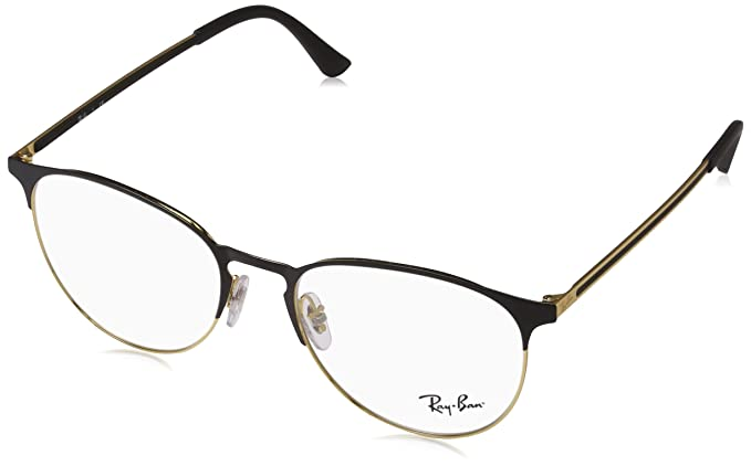 Amazon.com: Ray-Ban RX6375 - Gafas unisex, Rx 6375, 53 mm ...