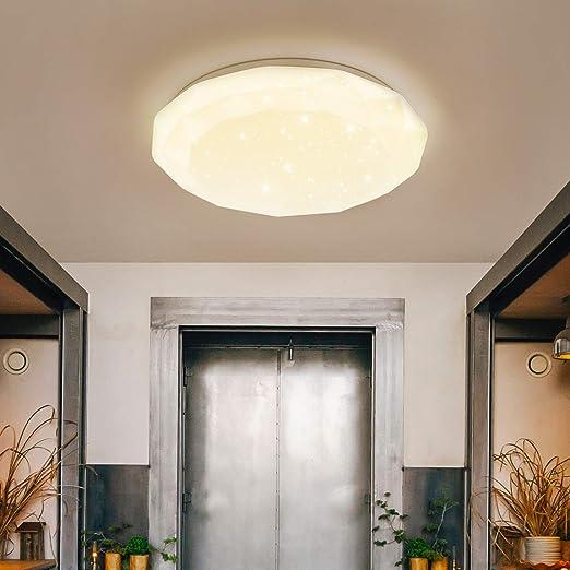 dimmbare LED Decken Lampen Design Sternenhimmel Flur Wohn