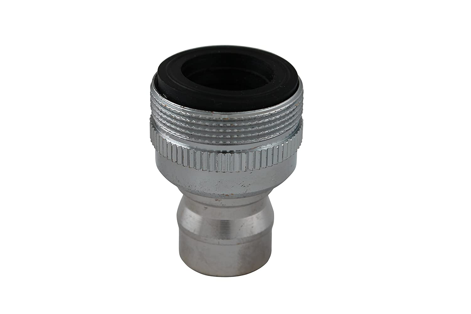 Keeney PP800-6 Plumb Pak Faucet Aerator Adapter With Small Diameter Nipple, Chrome Plated