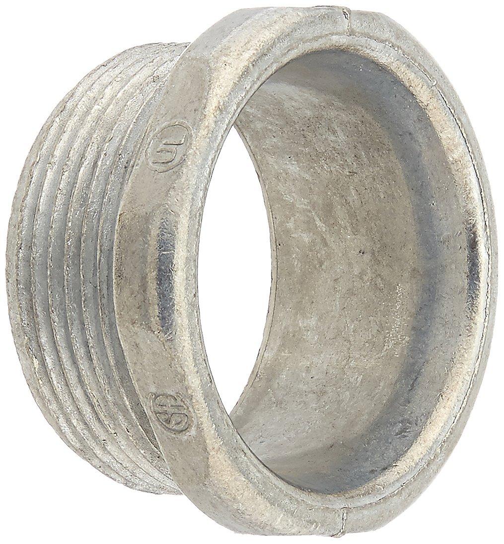 1-1//2 In Rigid Die Cast Zinc 1-1//2 Chrome Halex 07015 Conduit Chase Nipple