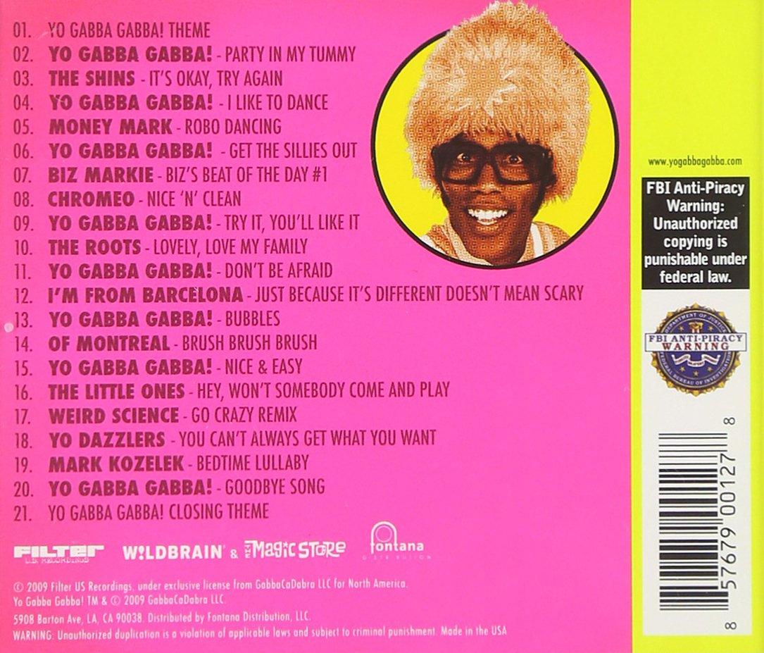 Amazon | Yo Gabba Gabba: Music...