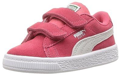 213bf29a524a76 Puma Unisex Babies  Suede Classic Velcro Kids Sneaker  Amazon.co.uk ...