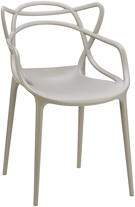 Kartell, Sedia Masters, Colore: Grigio: Philippe Starck: Amazon.it ...