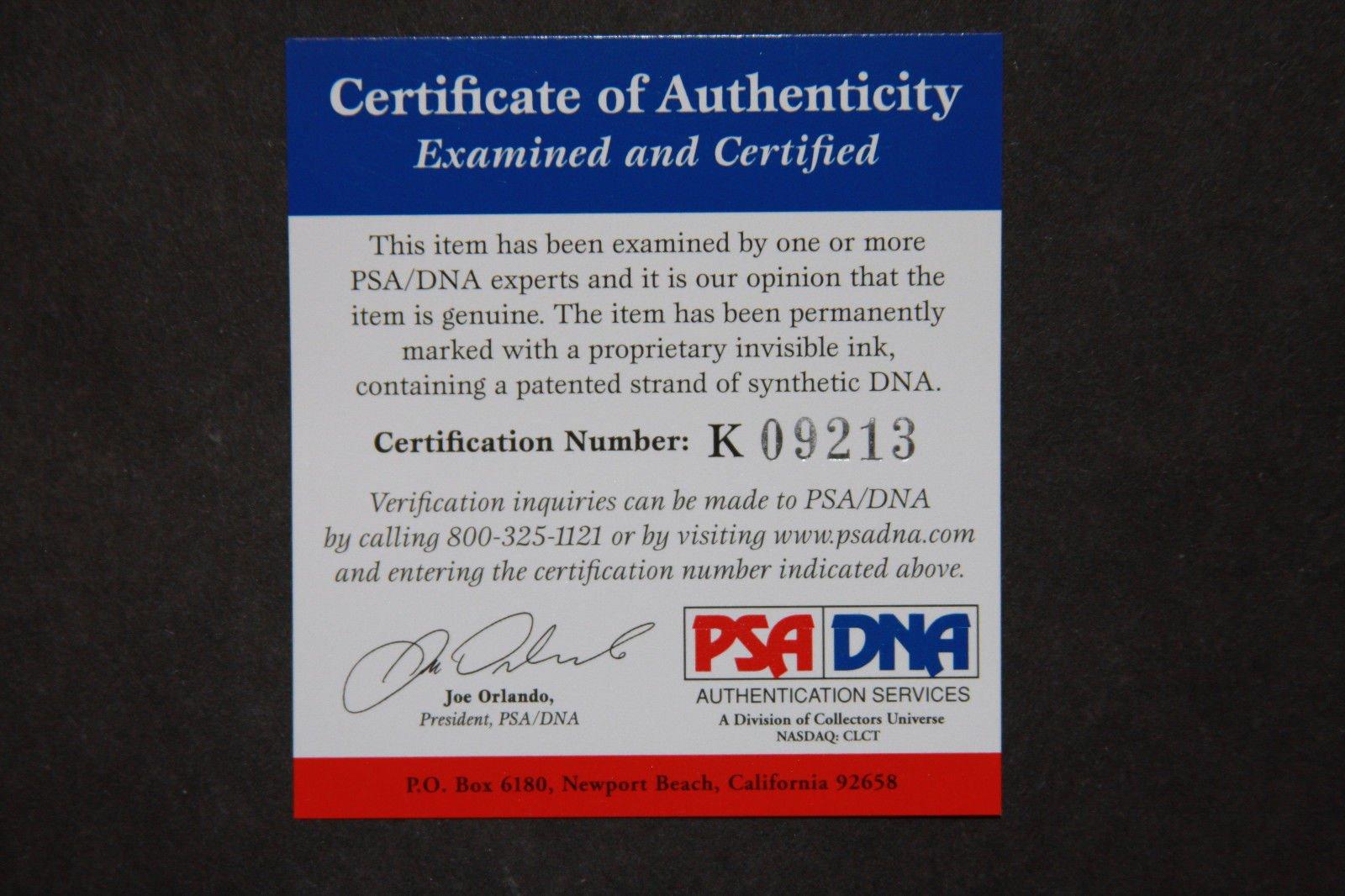 Eddie Murray Autographed Signed Roml Basebal 77 Al Roy PSA/DNA