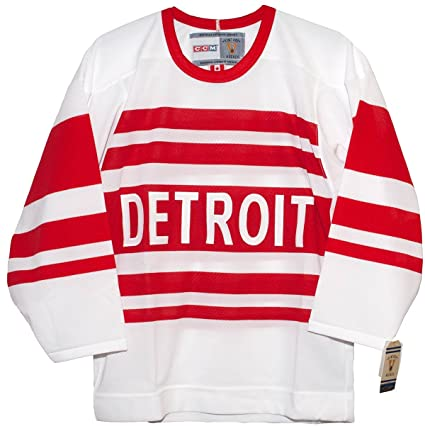 finest selection 8c2cf 661e8 Amazon.com : Vintage Detroit Red Wings 1992 Alternate CCM ...