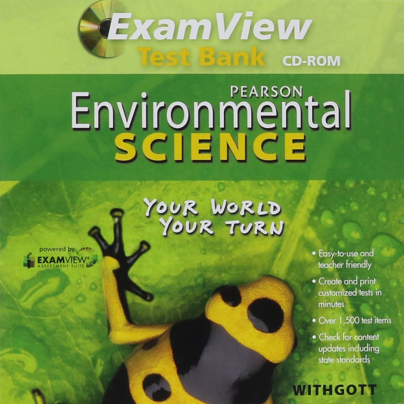 Amazon.com: Study Workbook for Environmental Science: Your World ...