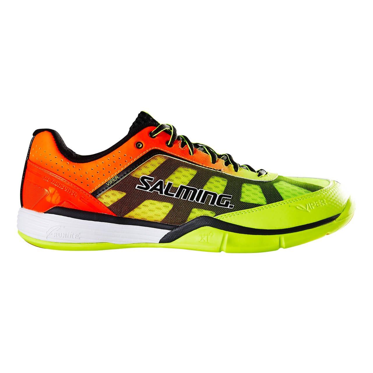 Salming Viper 4 Men's Indoor Court Shoe Yellow/Orange (8)
