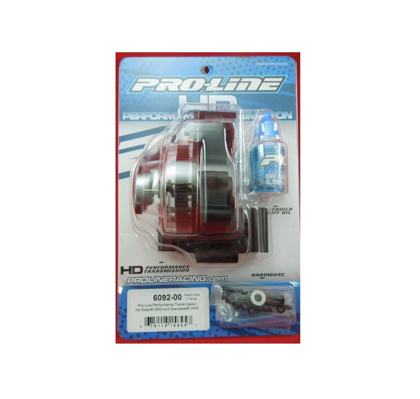 PROFLINE Hobby RC Performance Transmission TRAXAZ Raptor Slash 2wd 060-9200 New Quick Arrive
