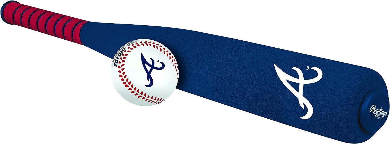 Rawlings MLB Foam Bat and Baseball (All Team Options)