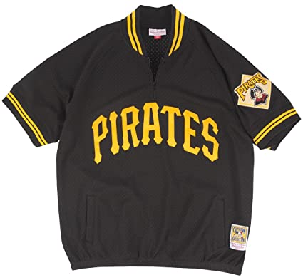newest 4d81d 4aa75 Amazon.com : Mitchell & Ness Pittsburgh Pirates MLB Men's ...
