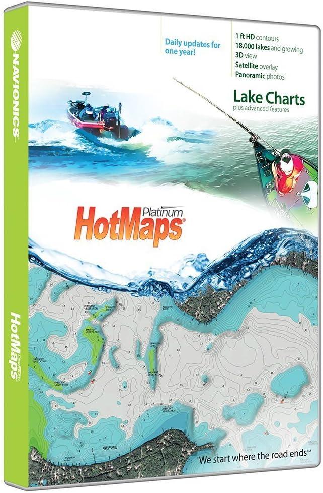 Navionics HotMaps Platinum del Norte Lago gráficos en SD/mSD: Amazon.es: Deportes y aire libre