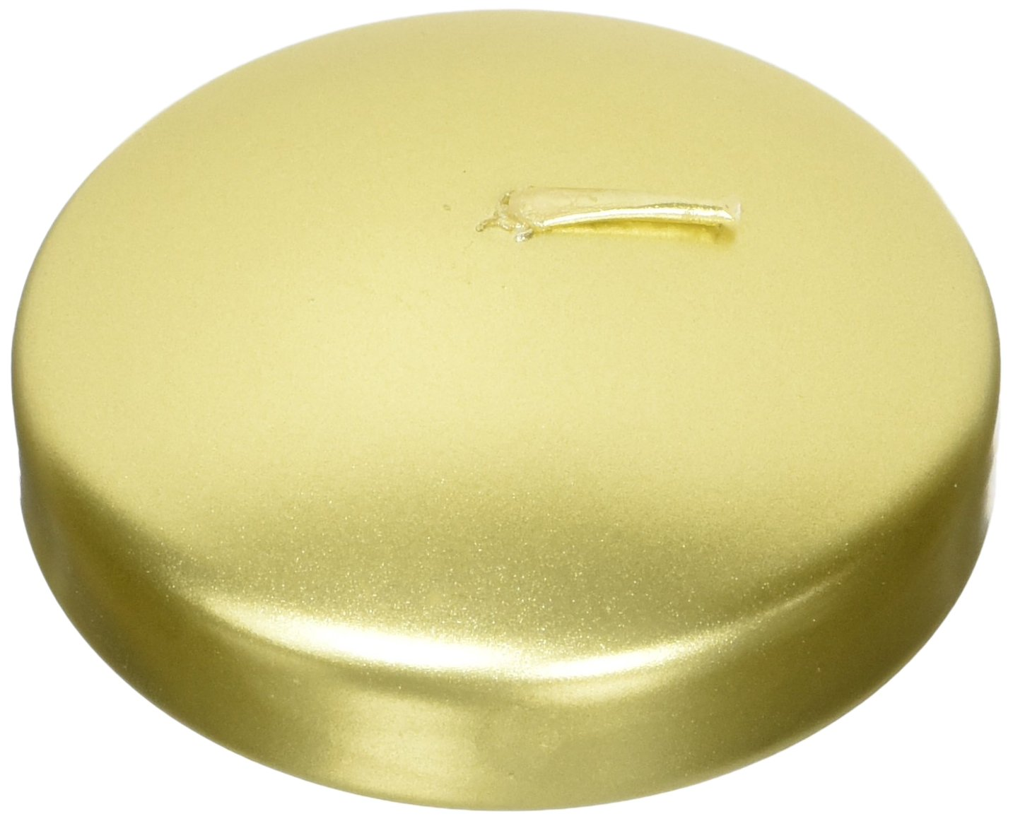 Mega Candles - Unscented 3 Floating Candles - Gold, Set of 12 FBA_CGA064-GD-12